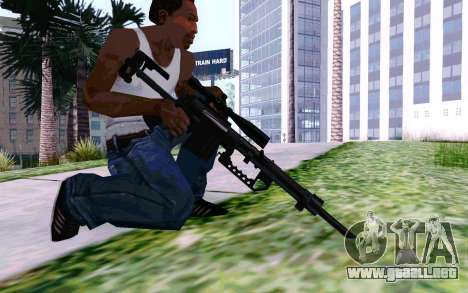 Cheytac M200 Black para GTA San Andreas quinta pantalla