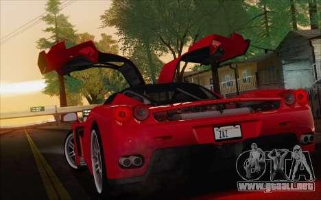 SA_nVidia: Capturas De Pantalla De La Edición para GTA San Andreas novena de pantalla