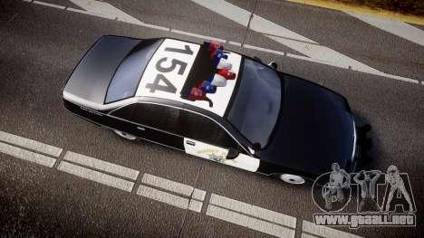 Chevrolet Caprice Highway Patrol [ELS] para GTA 4 visión correcta
