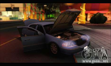 Lincoln Towncar (IVF) para GTA San Andreas