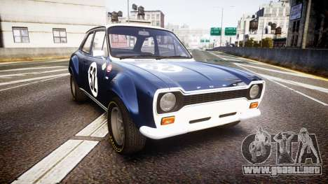 Ford Escort RS1600 PJ52 para GTA 4