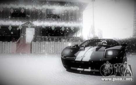 Invierno 2.0 ENBSeries para GTA San Andreas tercera pantalla