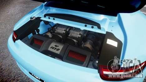 RUF RGT8 2014 para GTA 4 vista interior