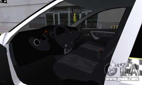 Dacia Logan Taxi para el motor de GTA San Andreas