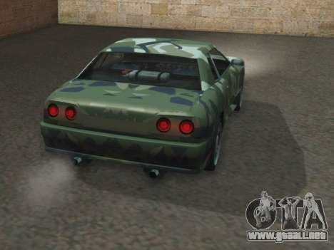 Elegy GTR para GTA San Andreas vista posterior izquierda