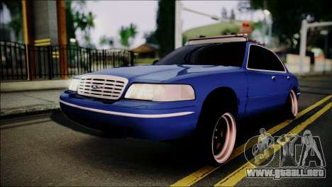 Ford Crown Victoria Stance Nation para GTA San Andreas