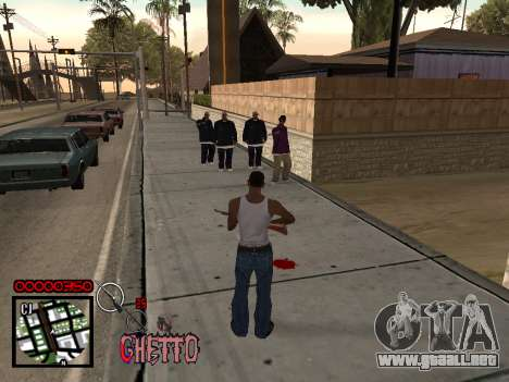 C-HUD by Jones para GTA San Andreas tercera pantalla
