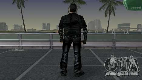 Tommi Black Skin para GTA Vice City sucesivamente de pantalla