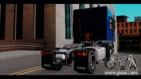 Iveco Eurotech (No Snow) para GTA San Andreas left