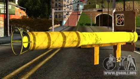 Firework Launcher from GTA 5 para GTA San Andreas segunda pantalla