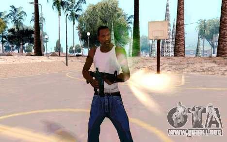 M4A1 (Dodgers) para GTA San Andreas segunda pantalla