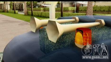 Chevrolet C.O.E. Semimula para GTA San Andreas vista hacia atrás