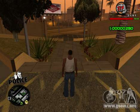 C-HUD by Jim para GTA San Andreas tercera pantalla