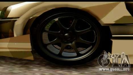 Nissan Skyline R34 Maxxis GT para la visión correcta GTA San Andreas