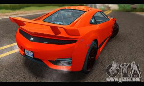 Dinka Jester Racecar (GTA V) para la visión correcta GTA San Andreas