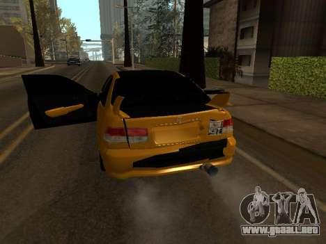 Honda Civic para la vista superior GTA San Andreas