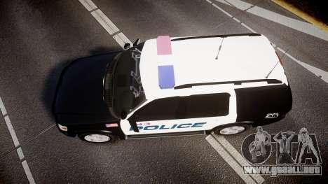 Ford Explorer 2008 Police [ELS] para GTA 4 visión correcta