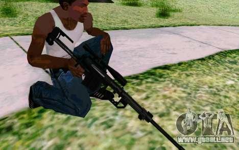 Cheytac M200 Black para GTA San Andreas sexta pantalla