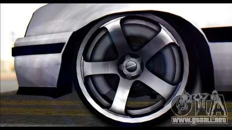 Opel Kadett GSI Caravan para GTA San Andreas vista posterior izquierda