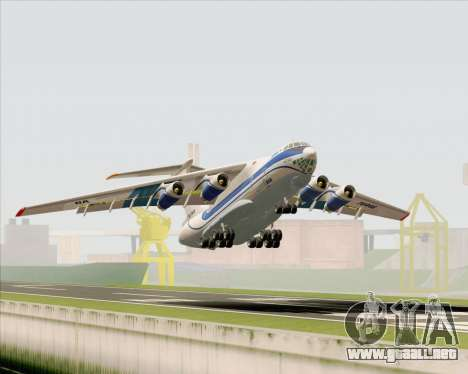 IL-76TD Gazprom Avia para las ruedas de GTA San Andreas