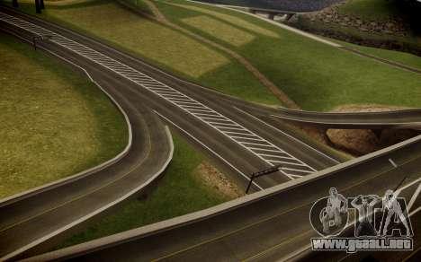 Fourth Road Mod para GTA San Andreas quinta pantalla