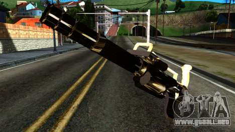 New Minigun para GTA San Andreas