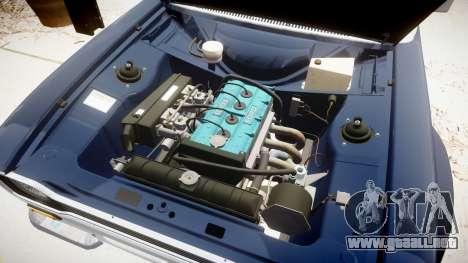 Ford Escort RS1600 PJ52 para GTA 4 vista hacia atrás
