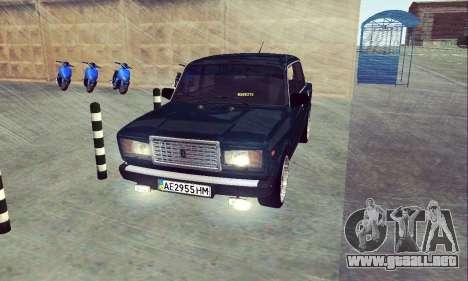 VAZ 2107 Siete-ty para GTA San Andreas