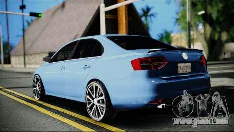 Volkswagen Jetta 2015 para GTA San Andreas left