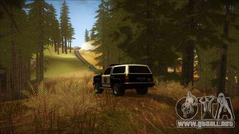 ENB Autumn para GTA San Andreas quinta pantalla