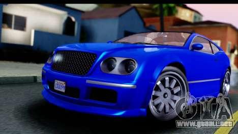 GTA 5 Enus Cognoscenti Cabrio para la visión correcta GTA San Andreas