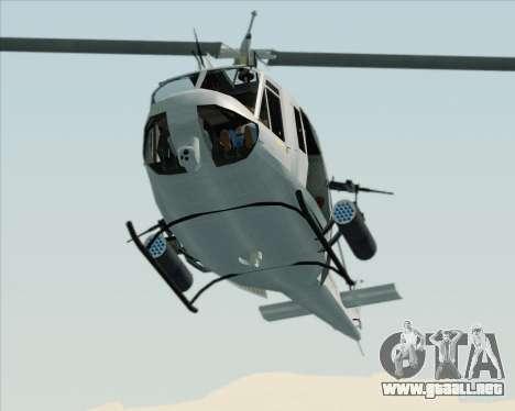 Bell UH-1N Huey USMC para visión interna GTA San Andreas