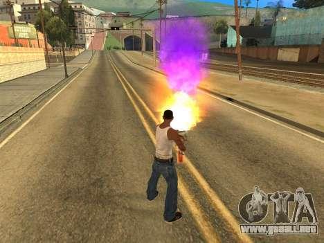 Fagot Funny Effects 1.1 para GTA San Andreas tercera pantalla