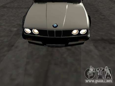 BMW M3 E30 Drift para visión interna GTA San Andreas