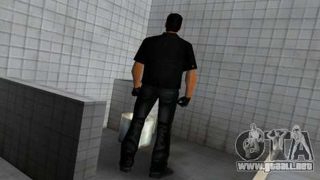 Tommy In Black para GTA Vice City