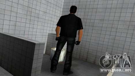 Tommy In Black para GTA Vice City quinta pantalla
