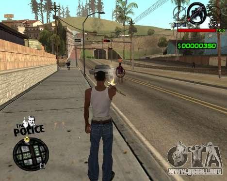 C-HUD by Jim para GTA San Andreas segunda pantalla