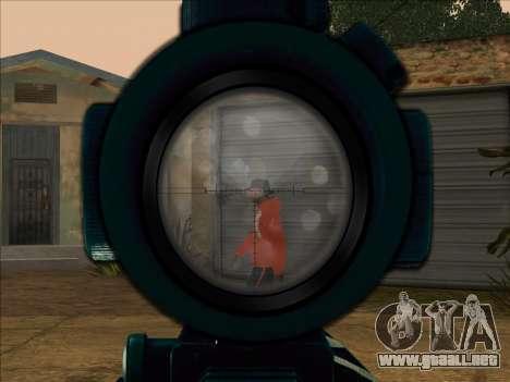 Sniper Skope Mod FIX para GTA San Andreas