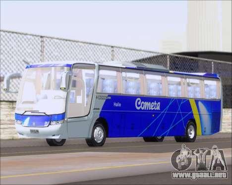 Busscar Vissta Buss LO Cometa para GTA San Andreas left
