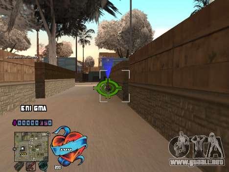 C-HUD Corazón para GTA San Andreas sucesivamente de pantalla