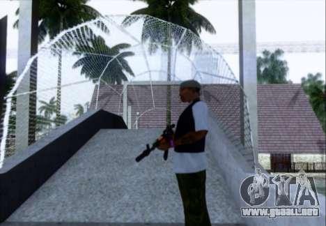 Akmn con CBE para GTA San Andreas tercera pantalla