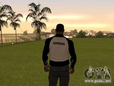 Adidas Honduras Track Jacket para GTA San Andreas segunda pantalla