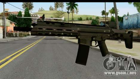 SCAR from from State of Decay para GTA San Andreas