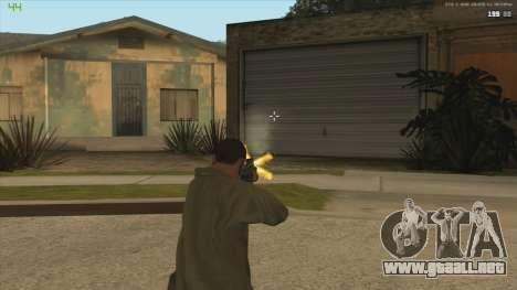 AK47 из Killing Floor para GTA San Andreas sucesivamente de pantalla
