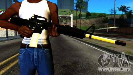 New M4 para GTA San Andreas tercera pantalla
