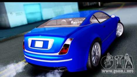GTA 5 Enus Cognoscenti Cabrio para GTA San Andreas left