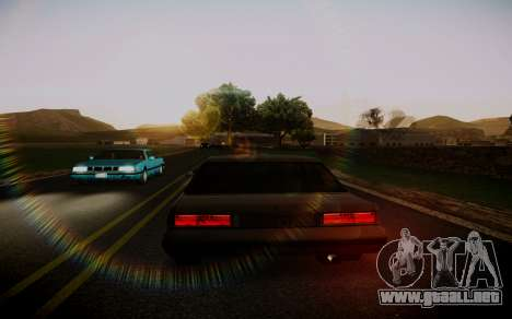 Fourth Road Mod para GTA San Andreas segunda pantalla