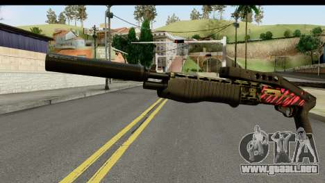 Red Tiger Combat Shotgun para GTA San Andreas