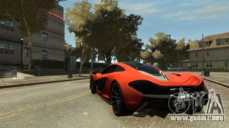 McLaren P1 2013 [EPM] para GTA 4 visión correcta