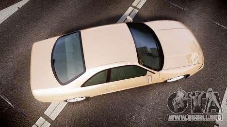 Nissan Skyline R33 GT-R V.spec 1995 para GTA 4 visión correcta